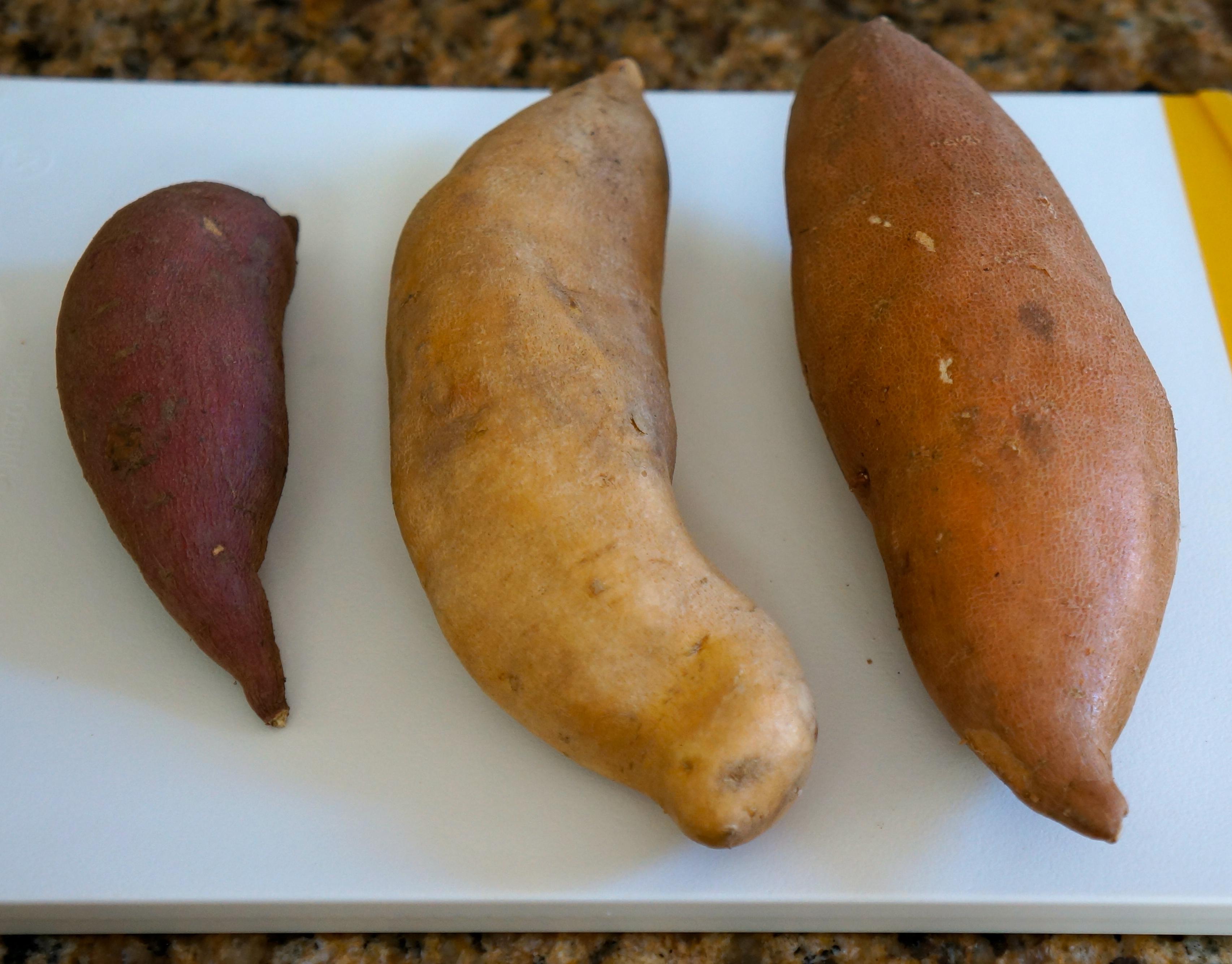... sweet potato, white-fleshed sweet potato, orange-fleshed sweet potato
