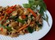 Pad Kra Praw (Thai basil chicken)