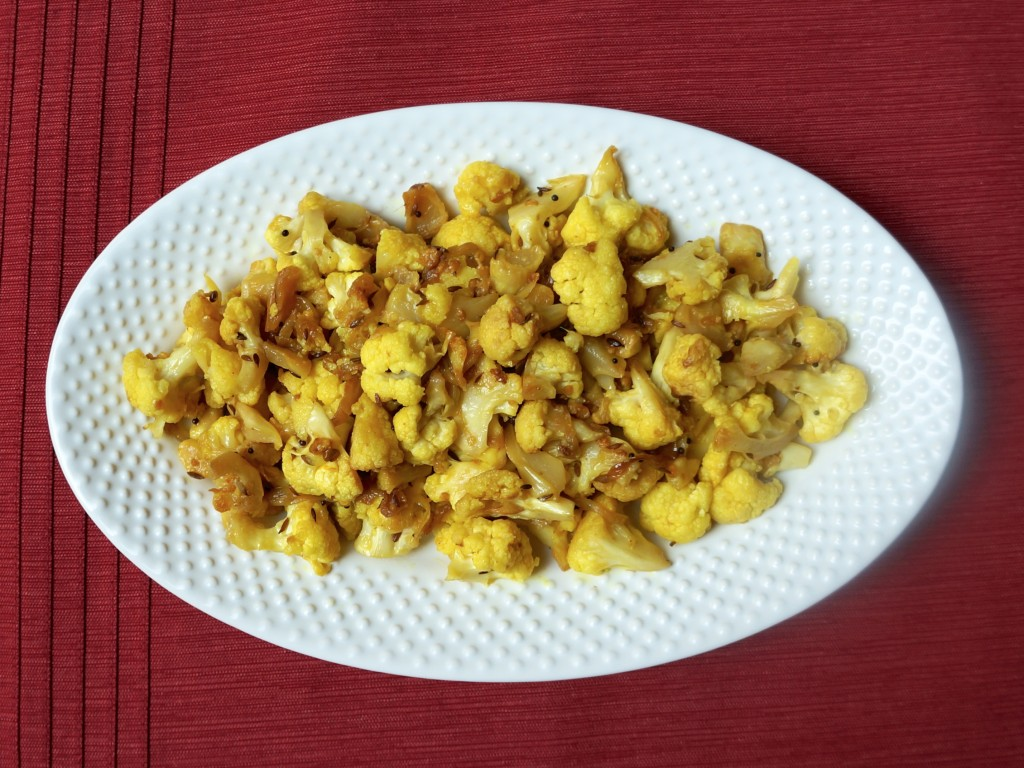 Phul Gobhi (Curried Cauliflower) – Half Indian Cook