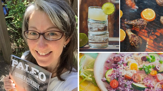 Paleo Mag Summer Cookbook Blog Title