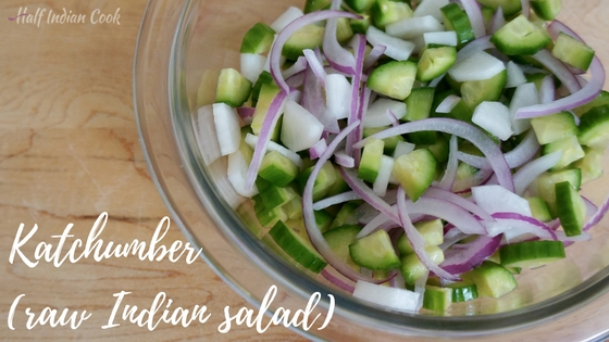 Katchumber (raw Indian Salad)